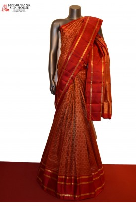 Exclusive Wedding Grand Contrast Kanjeevaram Silk Saree