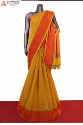 Special & Classic Thread Weave Pure Silk Cotton Saree