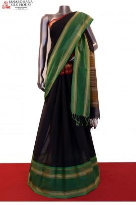 Special & Classic Thread Weave Pure Village  Cotton Saree
