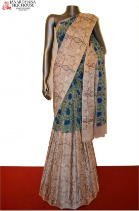 AD200997-Designer Pure Georgette Silk Saree With Satin Border