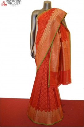 Classic Hand Weave Wedding Banarasi Silk Saree