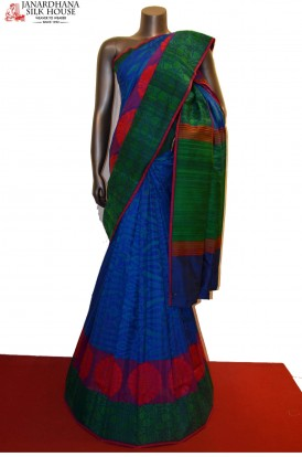 Exclsuive & Grand Handloom Thread Weave Banarasi Silk Saree