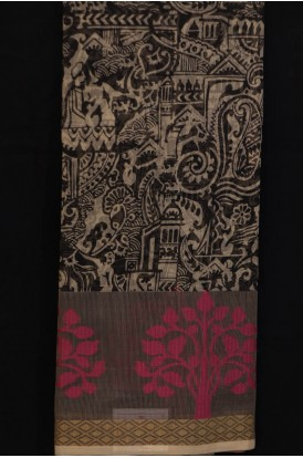 Printed Pure Cotton Saree