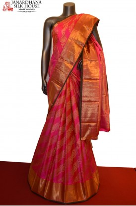 Wedding Bridal Kanjivaram Silk Saree