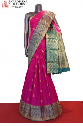 AD202988-Designer & Exclusive Pure South Silk Saree