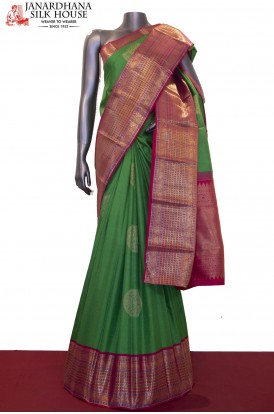Exquisite Bridal Grand Kanjeevaram Silk Saree