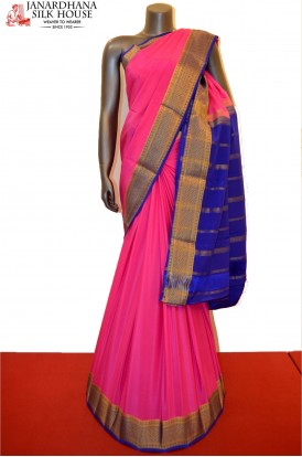 Traditional Classic Heavy Pure Mysore Crepe Silk Saree