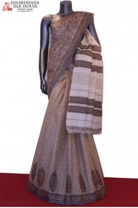 Exclusive Handloom Pure Tussar Silk Saree