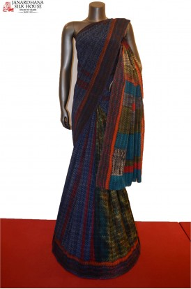 Classic Party Wear Pure Crepe Silk Saree