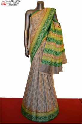 AD206431-Classic Party Wear Pure Tussar Silk Saree