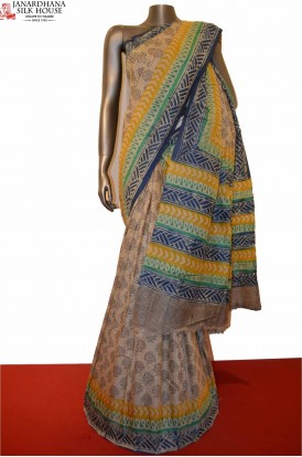 AD206432-Classic Party Wear Pure Tussar Silk Saree