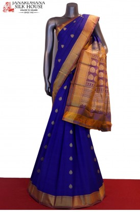 Thread Weave Classic Pure South Silk Saree