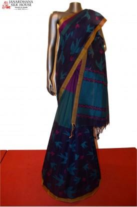 Exclusive  Handloom Pure Cotton Saree