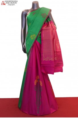 Patli Exclusive Wedding Kanjeevaram Silk Saree