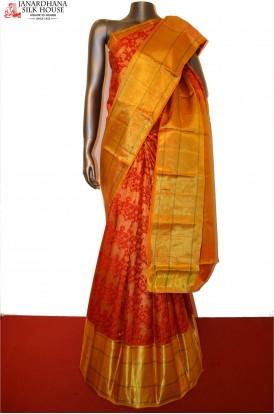 Bridal Red Special Classic Kanjeevaram Silk Saree