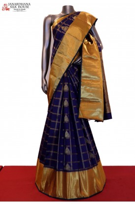 Exclusive & Grand Wedding Handloom Kanjeevaram Silk Saree
