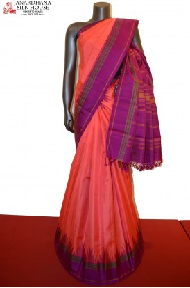 Temple Kanchipuram Silk Saree