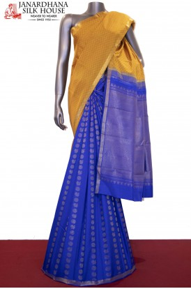 AD211439 -Exclusive Grand Wedding Patli Kanjeevaram Silk Saree