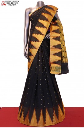 AD211637-Temple Exclusive Grand Wedding Pure South Silk Saree
