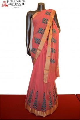 Designer Exclusive Pure Silk Chiffon Embroidery