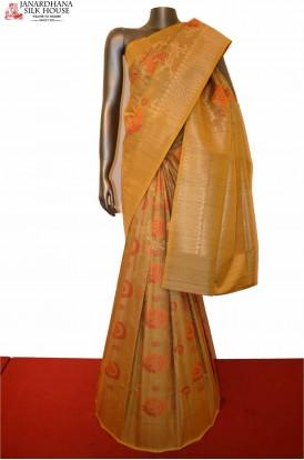 Exclusive and Grand Handloom Tussar Silk Saree