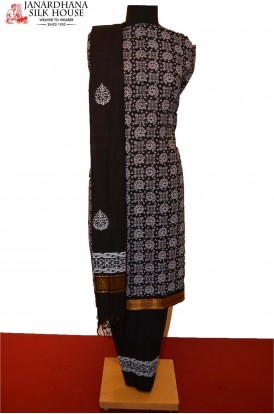 Party Wear Exclusive Unstitched Pure Cotton Suit
