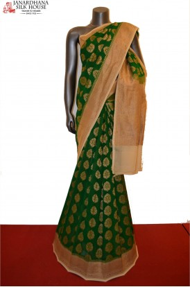 Exclusive Grand Banarasi Georgette Silk Saree