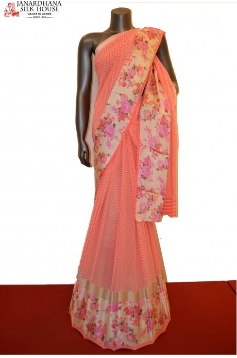 Exclusive Pure Georgette Silk ..