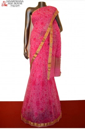 Exclusive Pure Georgette Silk Saree