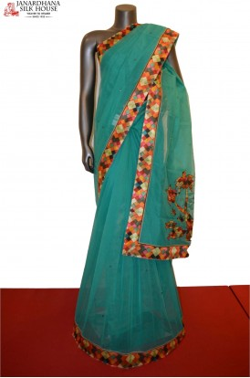 AE200599 -Party Wear Pure Cotton Saree