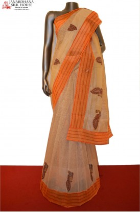 AE200628 -Party Wear Pure Cotton Saree