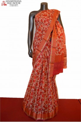 Exclusive Party Wear Pure Crepe Silk Saree