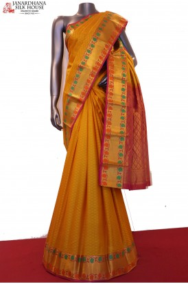 Exclusive Wedding Pure South Silk Saree