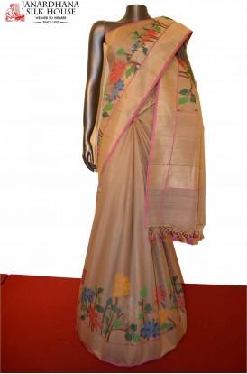 Contemporary & Exclusive Special Handloom Tussar Silk Saree