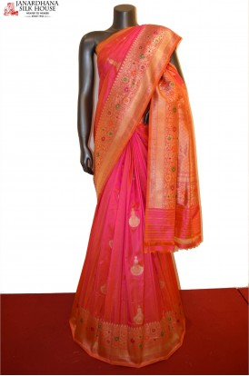 Exclusive Handloom Pure Banarasi Silk Saree