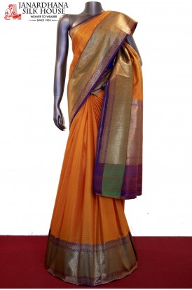 Exclusive & Grand Handloom Pure Tussar Silk Saree