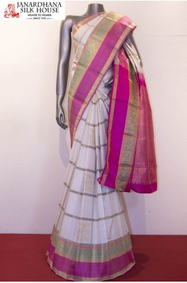 Master Weave Grand & Designer Wedding Kanjeevaram Silk Saree