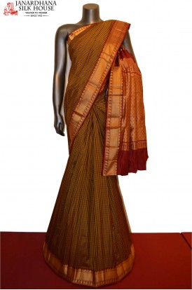 Traditional Pure South Silk Saree