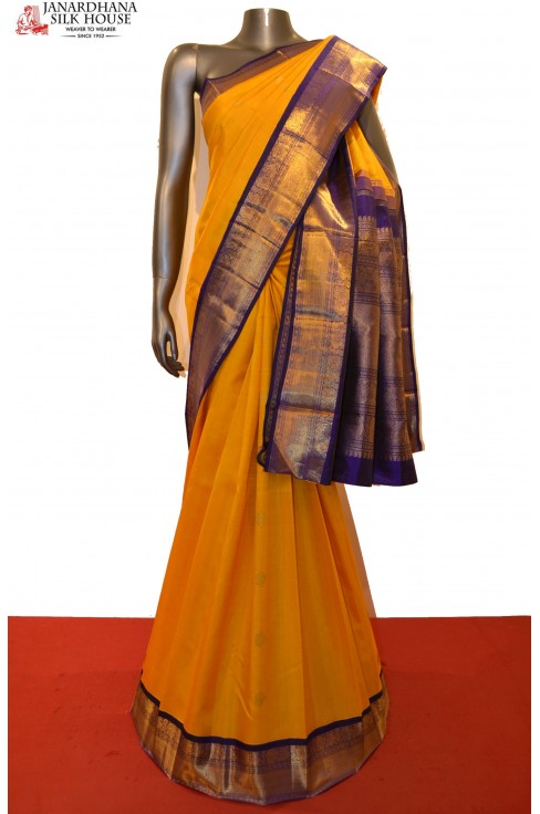 Bridal & Contrast Exclusive Wedding Kanjeevaram Silk Saree