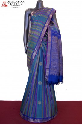 Designer Wedding Kanchi Silk Saree