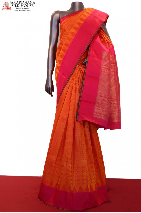 Temple &  Wedding Kanjeevaram Silk Saree
