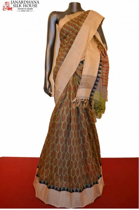 Exclusive Party Wear Pure Tussar Silk Saree