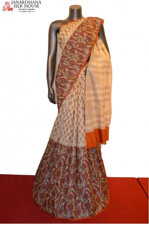 Exclusive Handloom Pure Tussar..
