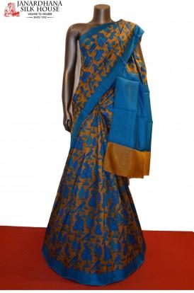 Exclusive Classic Printed Pure Silk Saree