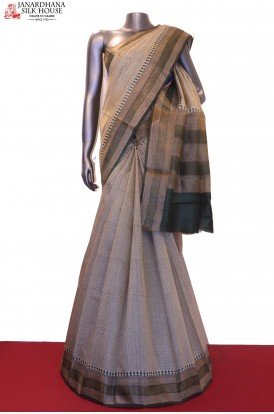 AE204785-Exclusive Printed Pure Tussar Silk Saree