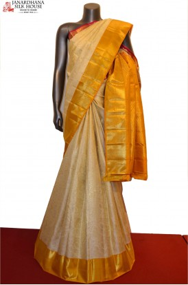 Ganga Jamuna Special Wedding Kanjeevaram Silk Saree