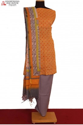 AE205986-Exclusive Printed Pure Cotton Suit