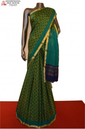 Exclusive & Classic Pure Printed Silk Saree