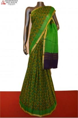 Exclusive & Classic Pure Printed Silk Saree