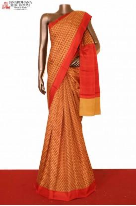 Classic Printed Silk Saree